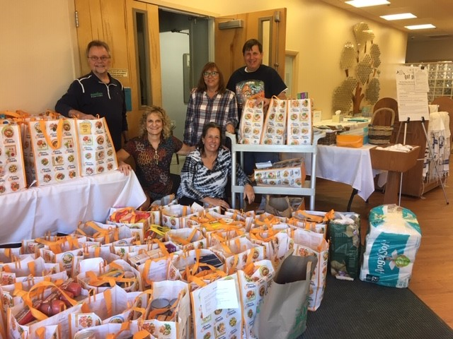 Food and toiletries collected for annual high holiday drive